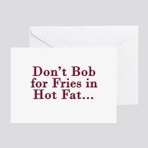 Bobs burgers greeting cards cafepress dont bob for fries r greeting cards package of m4hsunfo